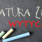 Matura 2020/ WYTYCZNE